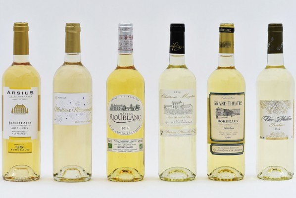 Palmarès Oscars Bordeaux Blanc Moelleux millésime 2014