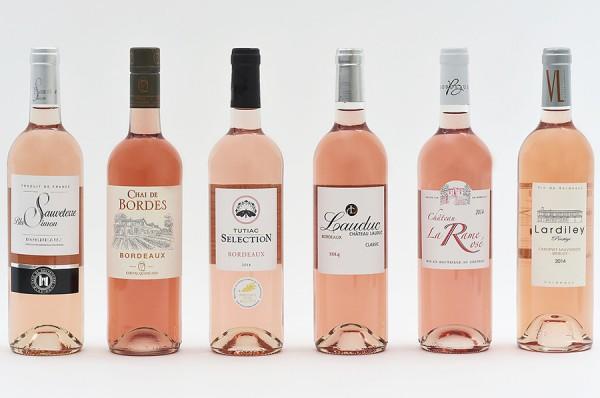 Palmarès Oscars Bordeaux Rosé millésime 2014