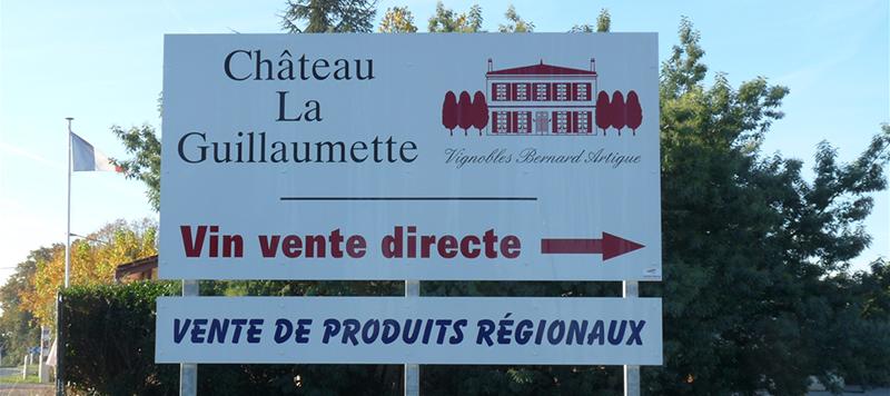 Foire aux Vins au Château La Guillaumette