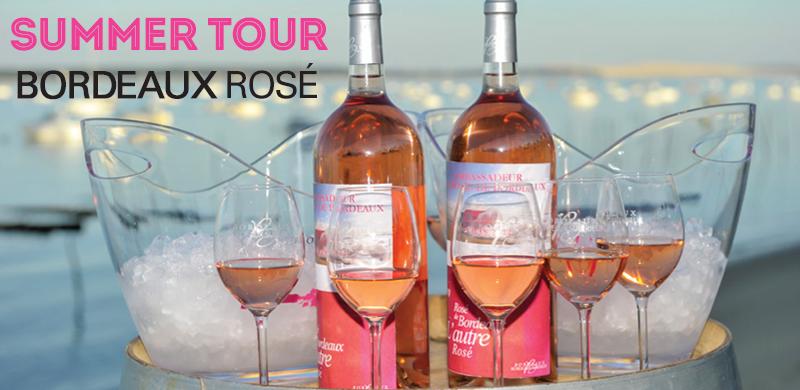 Bordeaux rosés tour