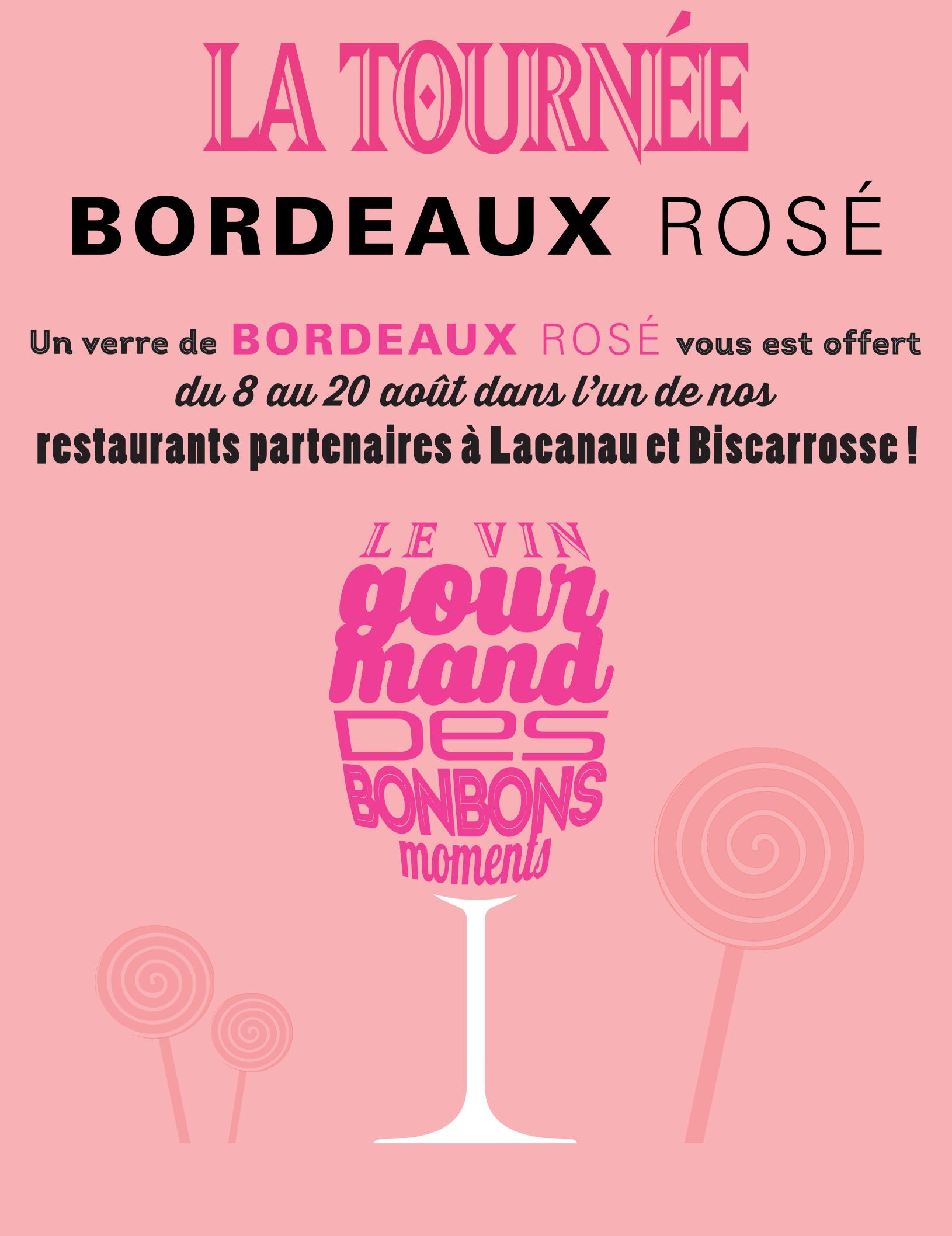 La Tournée Bordeaux rosé