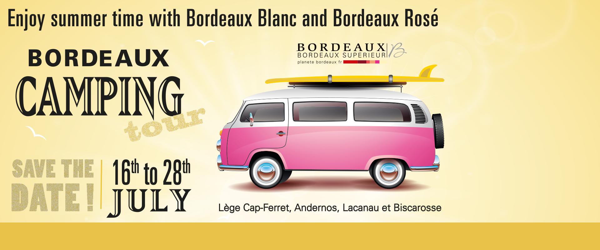 Bordeaux Camping Tour 2017