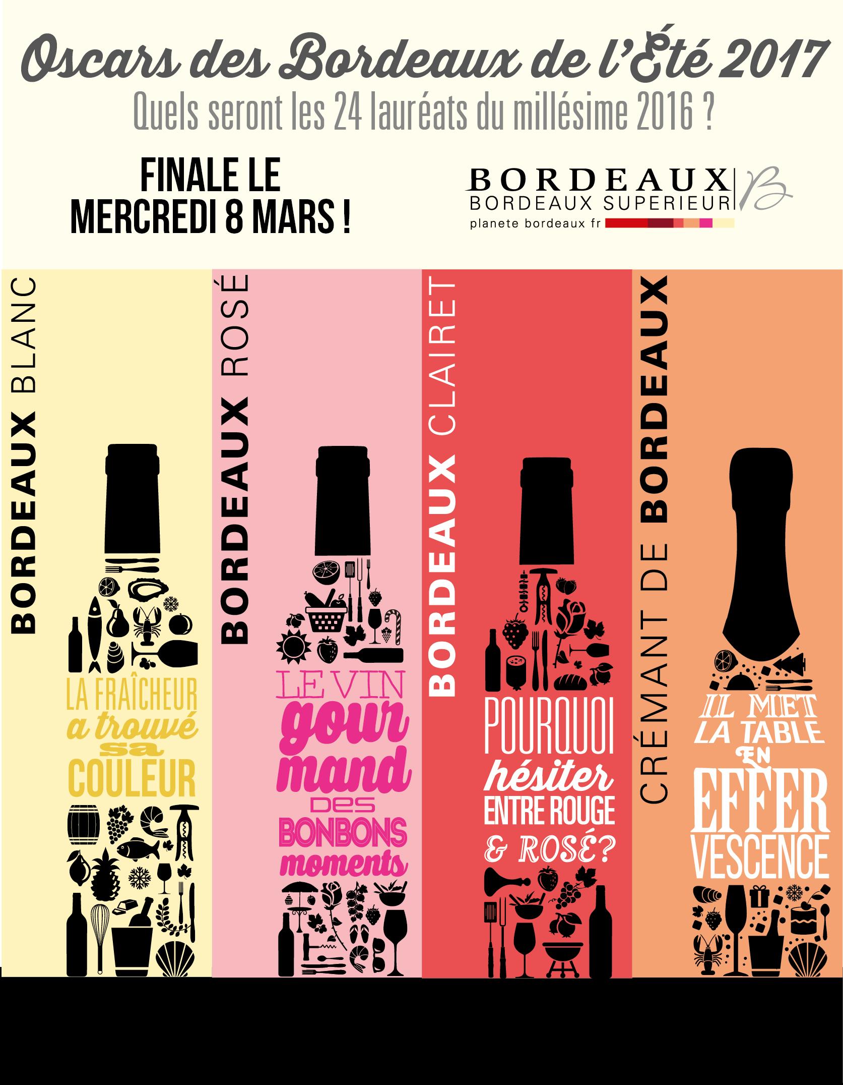 Oscars des Bordeaux de l'Été 2017