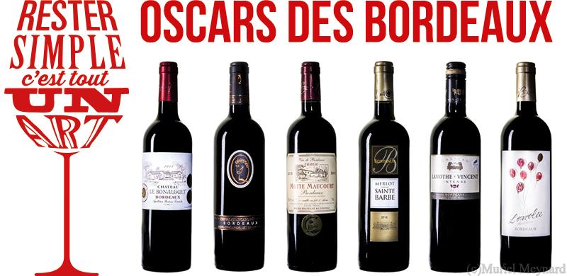 Oscars des Bordeaux rouges 2017