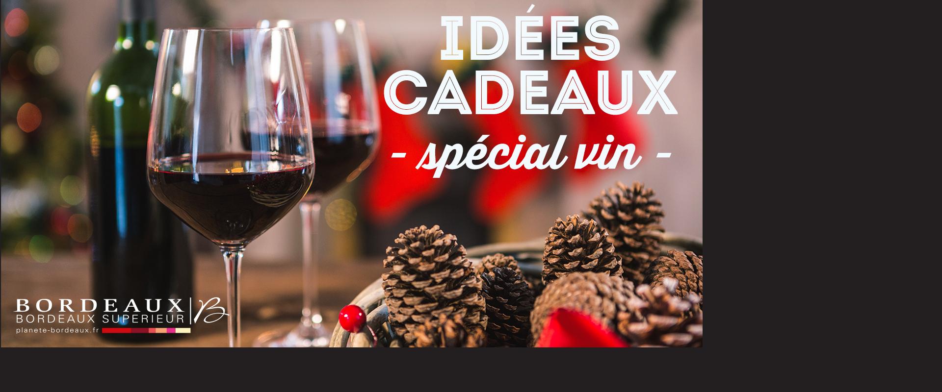 Idées Cadeaux de Noël - spécial vin