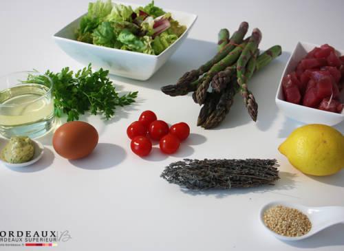 Salade de Thon aux asperges