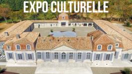 Exposition au Château Prieuré Marquet