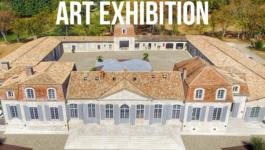 Exhibition Launch at Château Prieuré Marquet