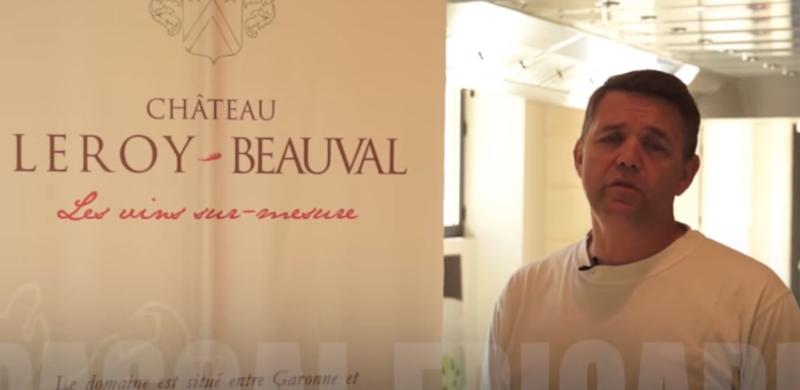 Rencontre au Château Leroy-Beauval