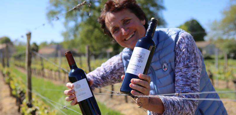 Portrait de vigneronne : Véronique Barthe