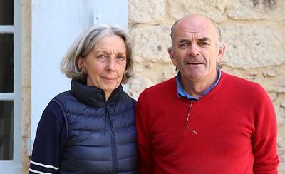 Portrait de Vignerons : Martine et Geoffroy de Roquefeuil