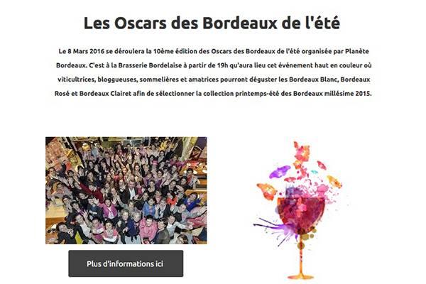 Les Oscars des Bordeaux de l'été