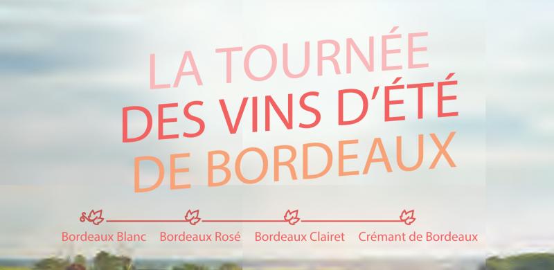 La Tournée des Vins d'été de Bordeaux 2021