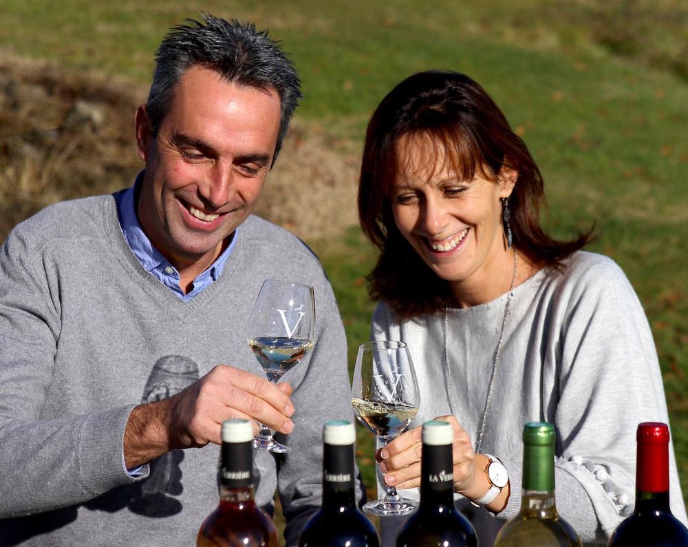 Portrait de vigneron : Dolorès et Alain Bessette