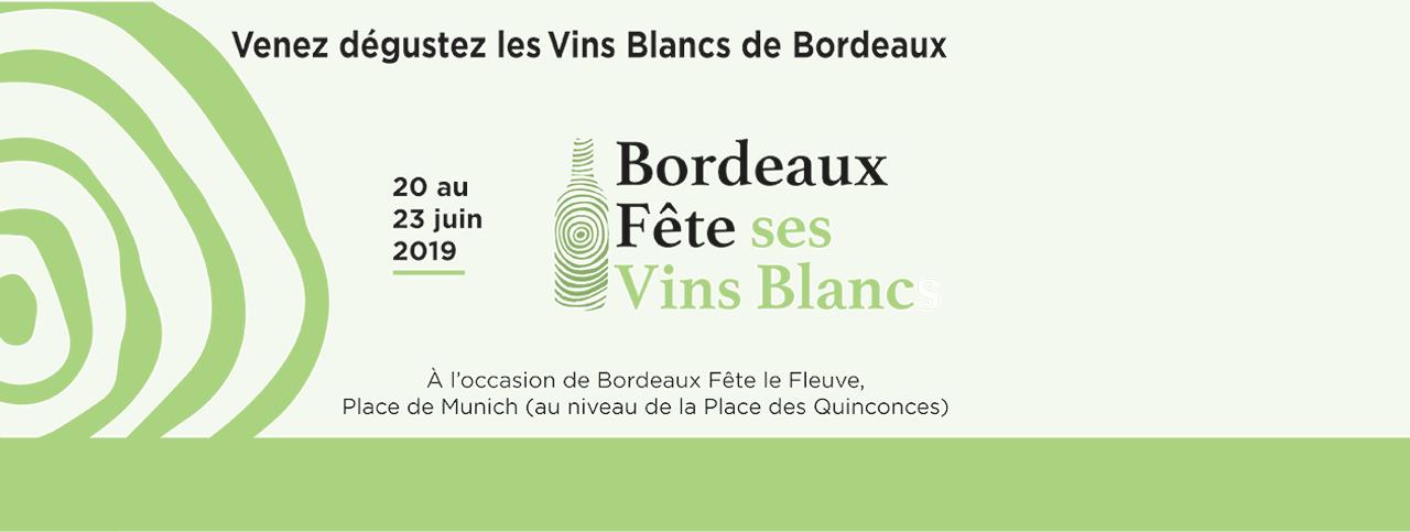1ère édition de Bordeaux Fête ses Vins Blancs
