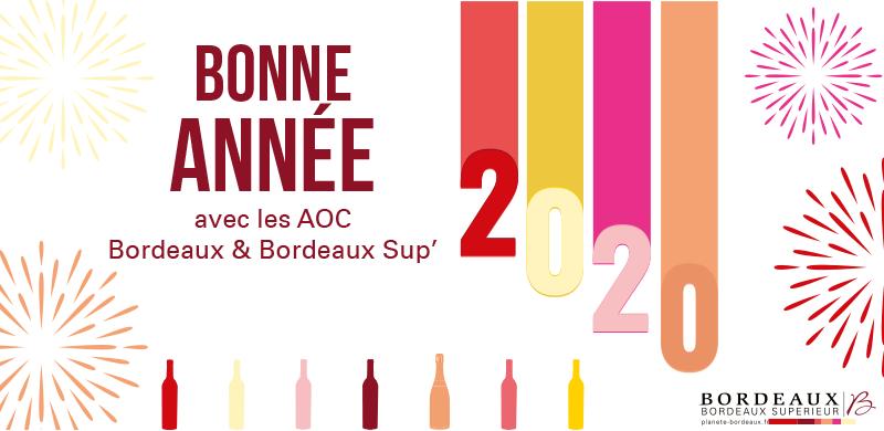 Bonne année 2020 avec les Bordeaux & Bordeaux Sup'