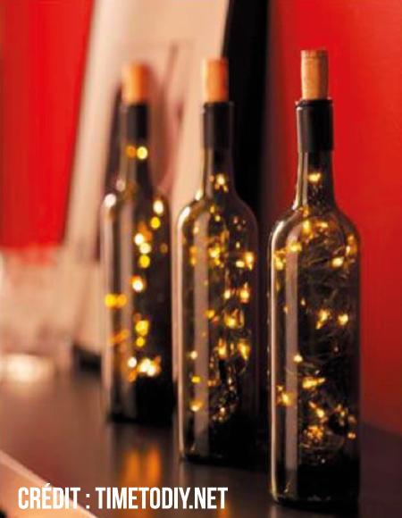 Une déco de fête 100% vin !