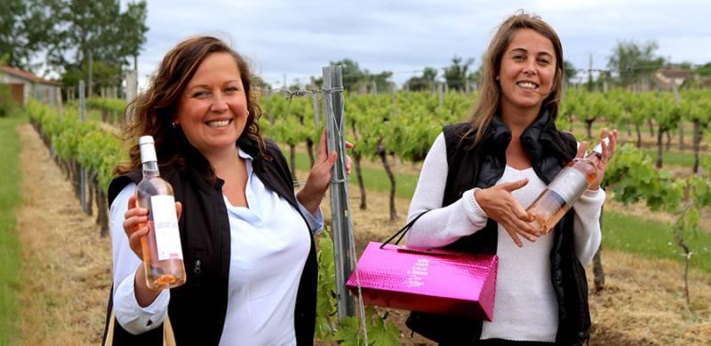 Portrait de vigneronnes : Carole Lecourt et Stéphanie Peeters