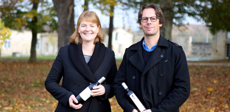 Winemakers portrait: Cécile Thirouin and Thierry de Taffin
