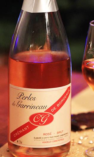 Perles de Garrineau Crémant de Bordeaux rosé