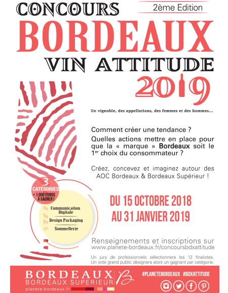 Les résultats du Concours Bordeaux Vin Attitude 2019