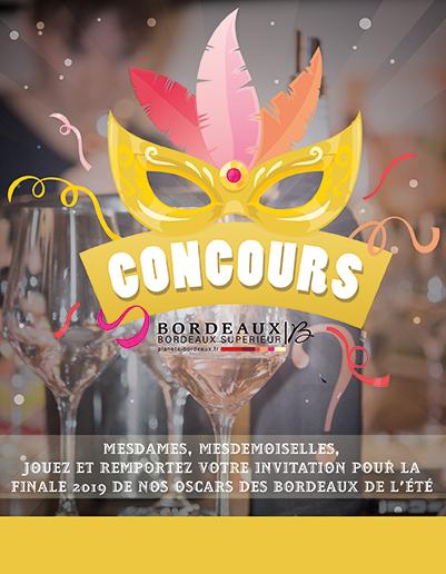 Concours - Participez au Oscars des Bordeaux de l'Été 2019