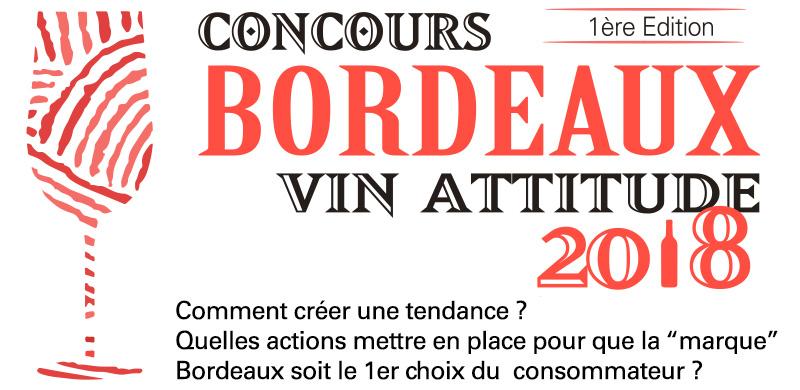 Concours Bordeaux Vin Attitude 2018