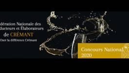 Palmarès du Concours National des Crémants 2020