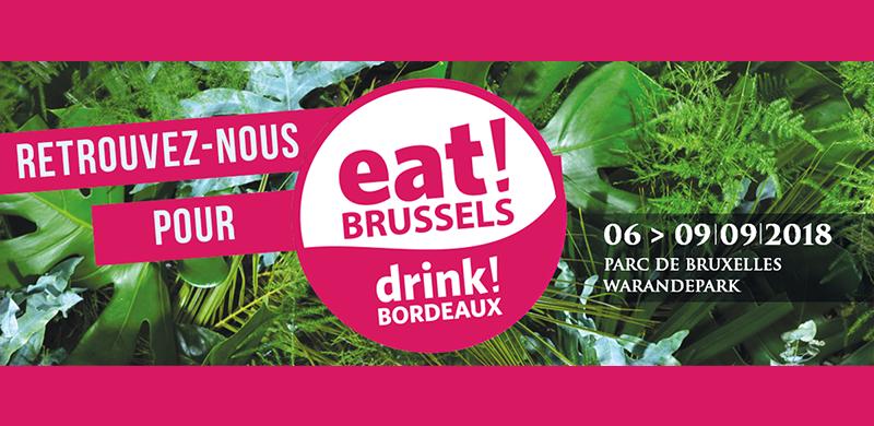 EAT ! BRUSSELS, DRINK ! BORDEAUX 2018