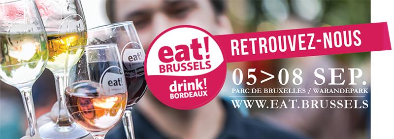 Eat! Brussels Drink! Bordeaux 2019