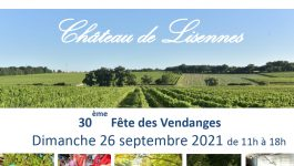 Fête des Vendanges – Château de Lisennes
