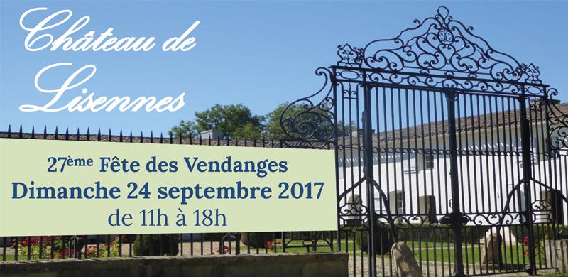 Fête des Vendanges au Château de Lisennes