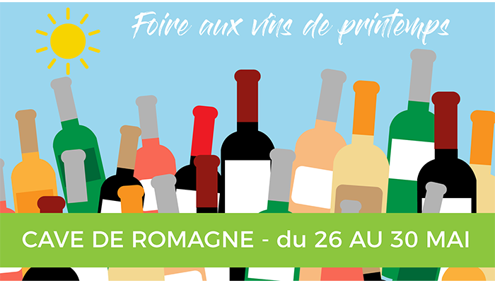 Foire aux vins de printemps à la cave de Romagne-Grangeneuve