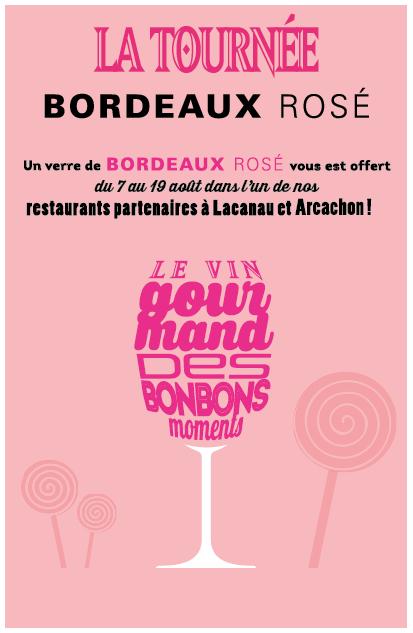 La tournée Bordeaux rosé 2018