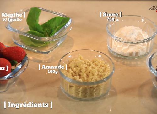 Soupe de fraises à l'anis étoilé et à la menthe