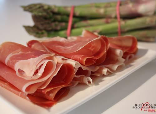 Asparagus and serano