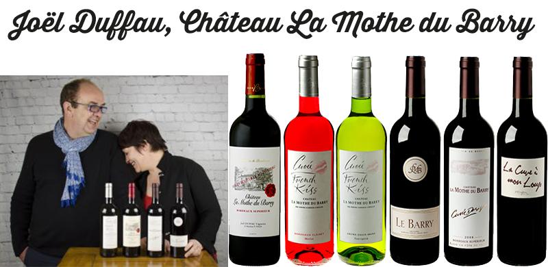 Découverte du Clairet French Kiss du Château La Mothe du Barry