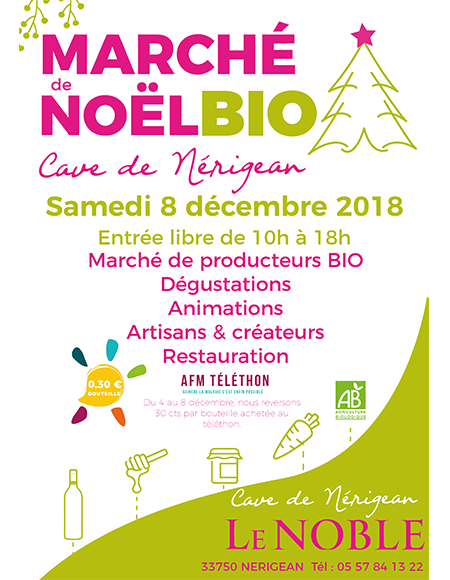 Marché de Noël Bio de Nérigean