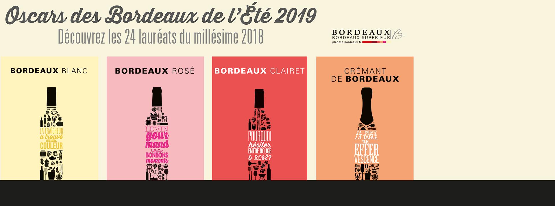Oscars des Bordeaux de l'Été 2019