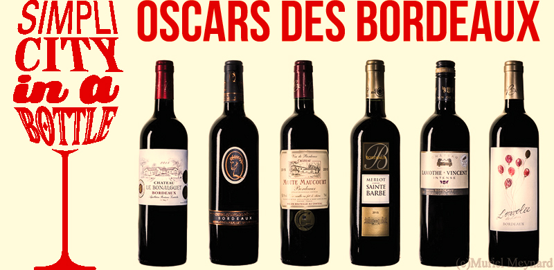 Oscars Bordeaux rouges 2017