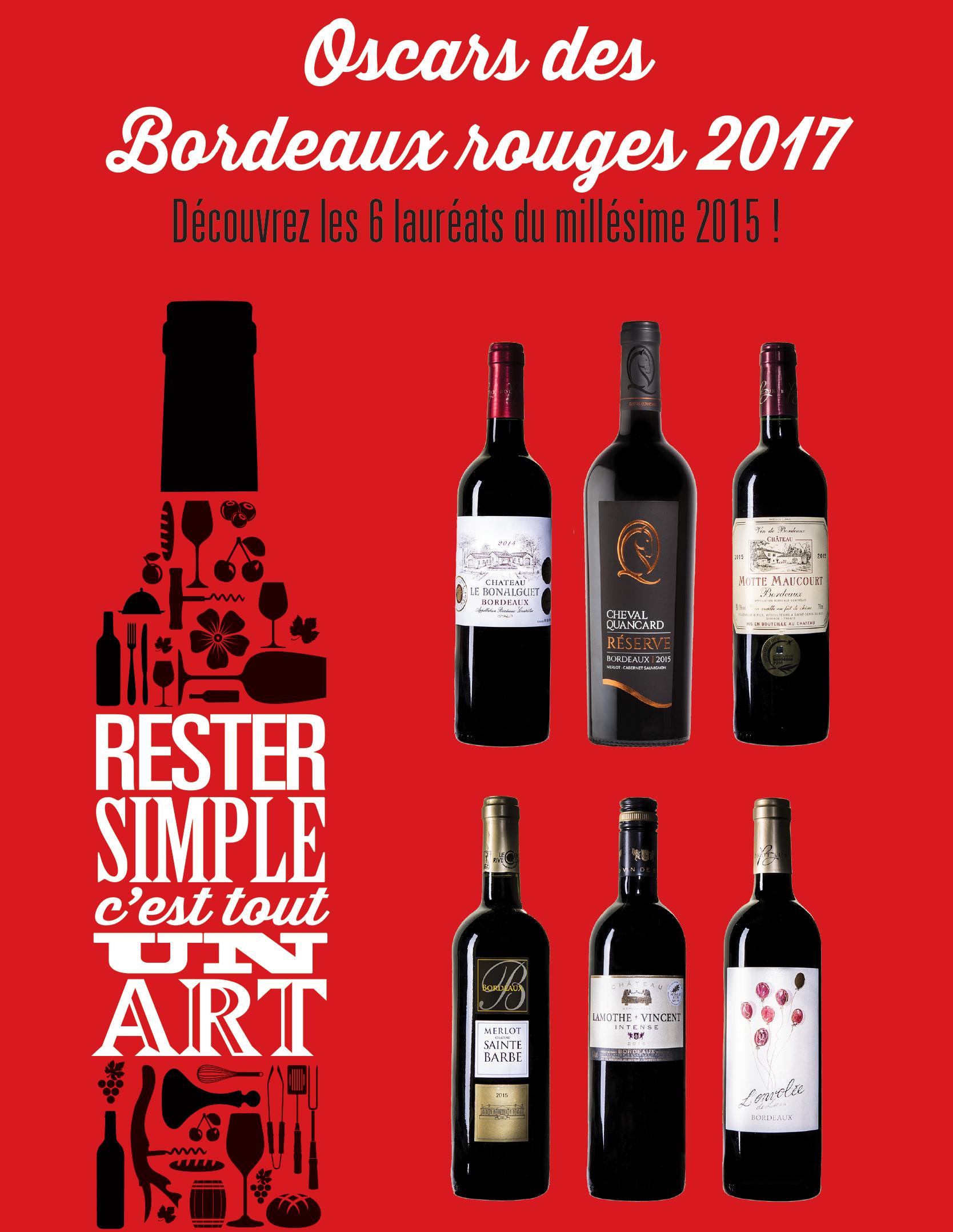 Oscars des Bordeaux rouge 2017