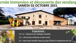 Découverte des Vendanges – Château Jean Dugay