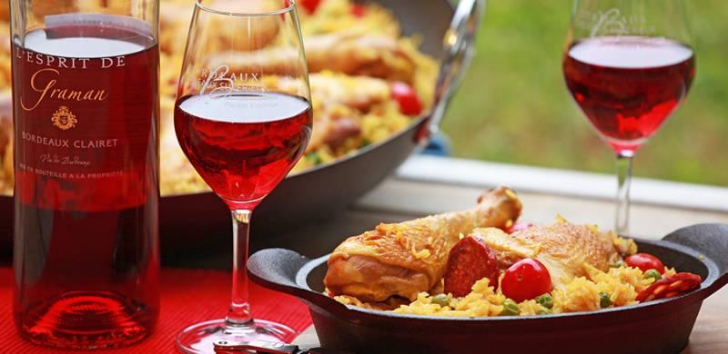 Paella Poulet et Chorizo