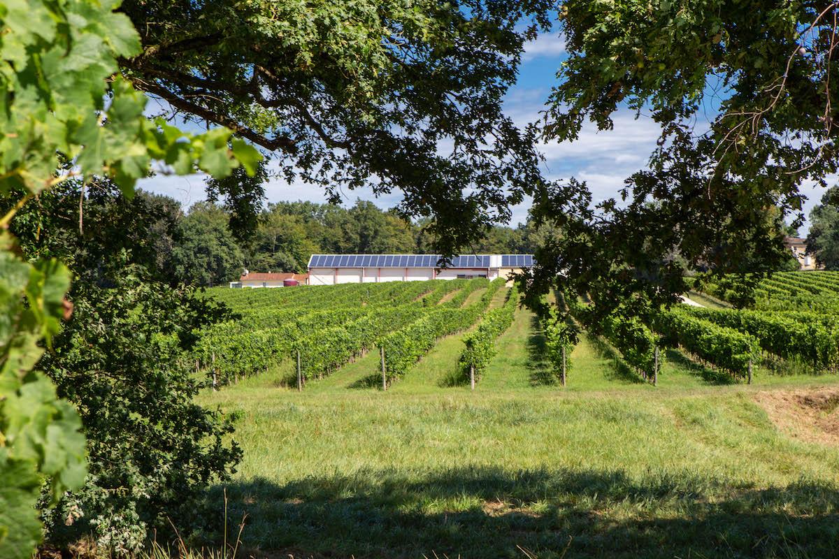Panneaux solaires Château de Lisenne