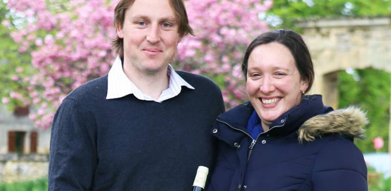 Portrait de vignerons : Pierre et Fanny Michaud