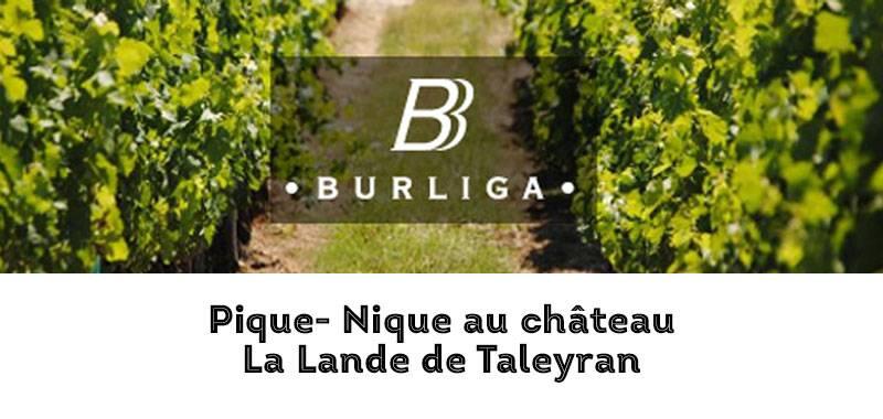 Pique Nique au Château La Lande de Taleyran