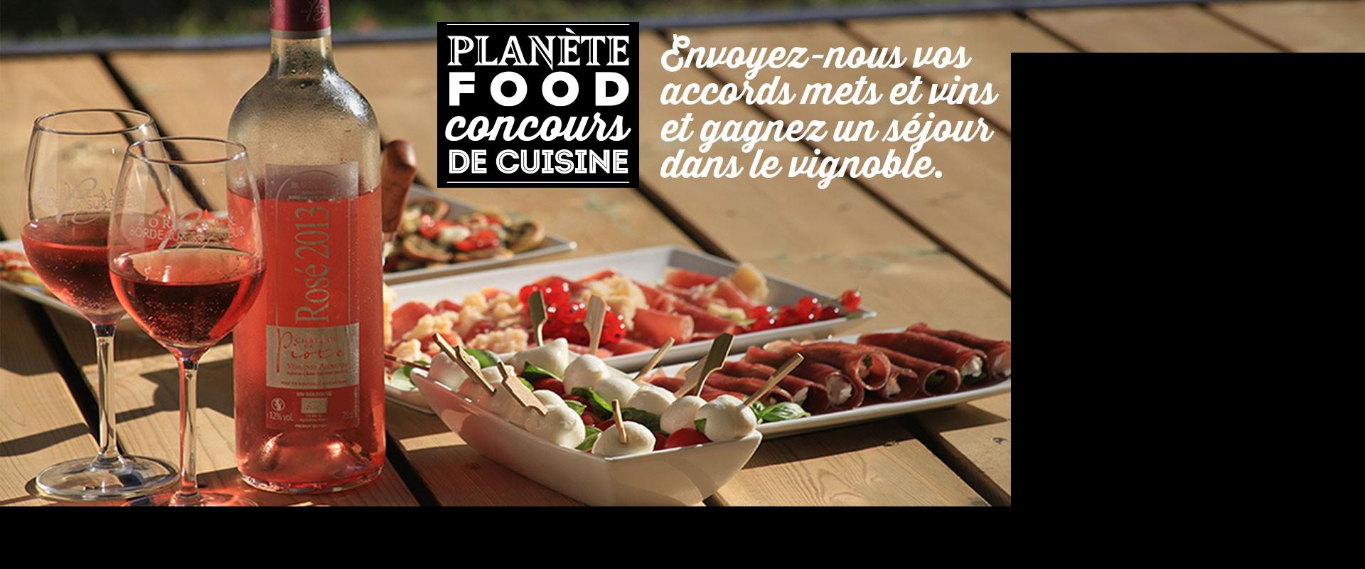 Concours Planète Food