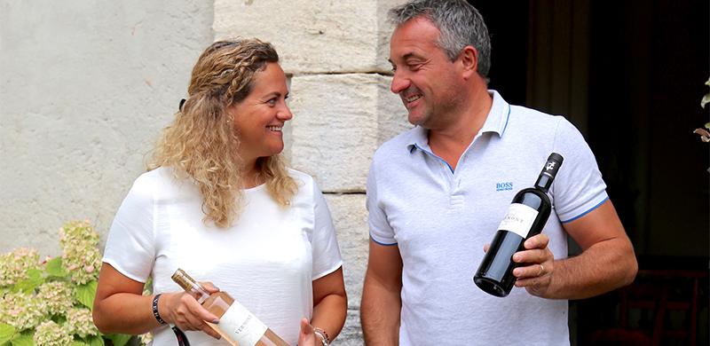Portrait de vignerons : Elisabeth et David Labat