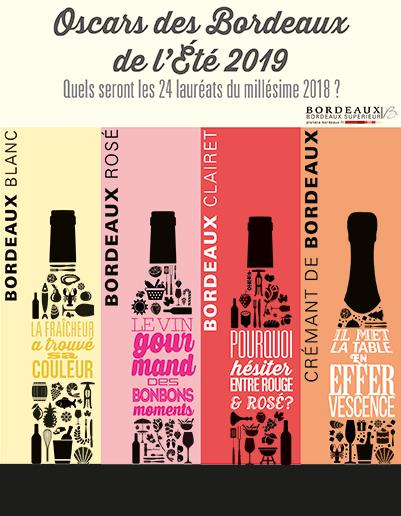 Présélection - Oscars des Bordeaux de l'Été 2019