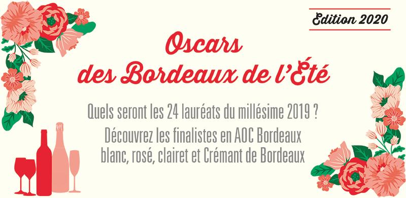 Présélection des Oscars des Bordeaux de l'Été 2020